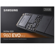 Ổ cứng 250GB SSD Samsung 960 EVO PCIe NVMe M.2 2280