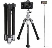 Chân máy ảnh, Chân đế gậy chụp ảnh tự sướng Coman MT55 ( Bestbuy Amazone 2021)