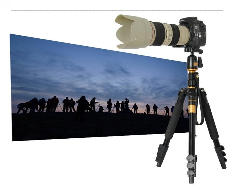 Chân máy ảnh Tripod/ Monopod Beike Q-555 19