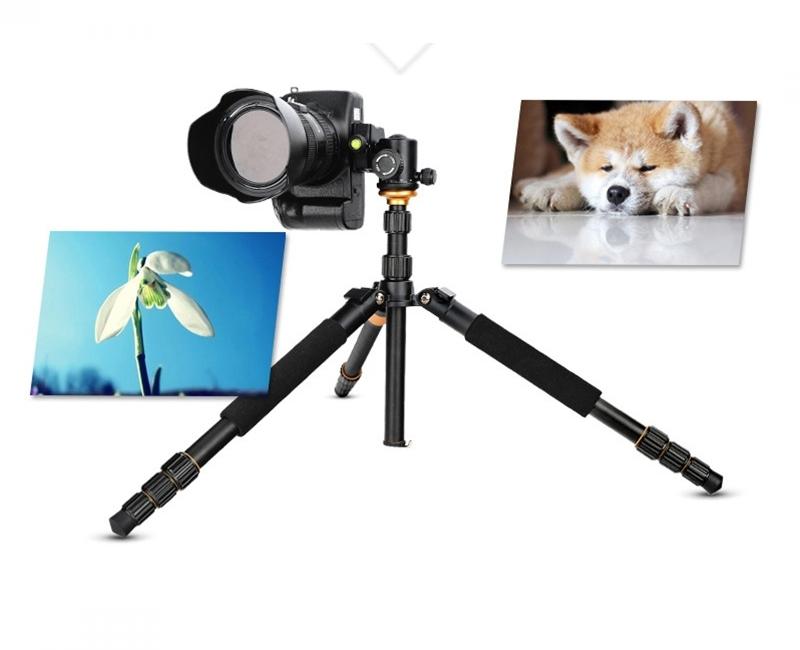 Chân máy ảnh Tripod/ Monopod Beike Q-999S 5