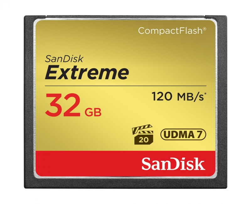 Sandisk CF 32GB Extreme 120MB/s 1
