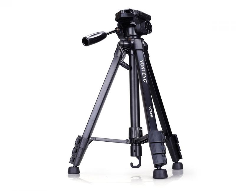 Chân máy ảnh / Tripod Yunteng 668 3