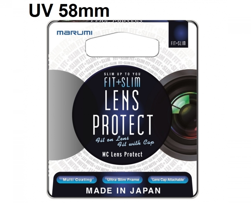Marumi Fit and Slim MC Lens protect UV 58mm 1