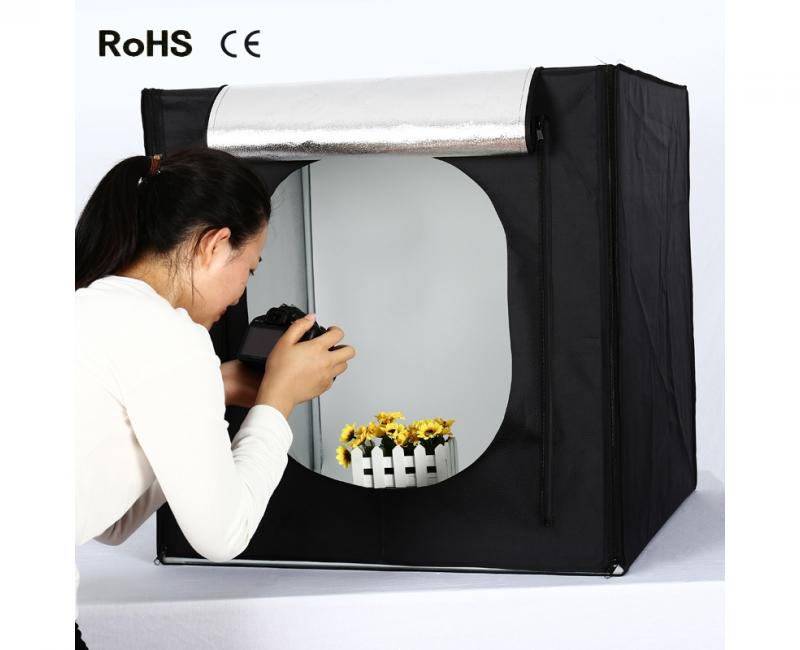 Hộp chụp sản phẩm CiYa CY-60 có đèn LED (60x60cm) 12