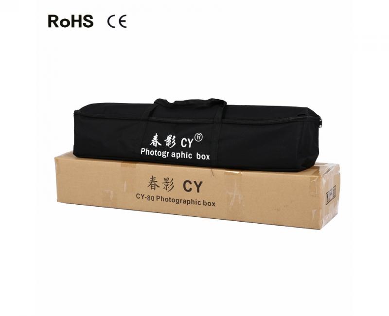 Hộp chụp sản phẩm CiYa CY-60 có đèn LED (60x60cm) 17