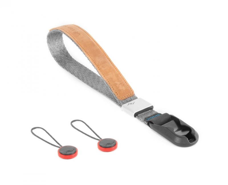 Dây máy ảnh đeo cổ tay Peak Design Cuff Wrist Strap, Màu xám 1