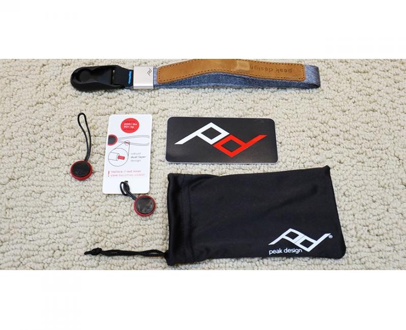 Dây máy ảnh đeo cổ tay Peak Design Cuff Wrist Strap, Màu xám 7