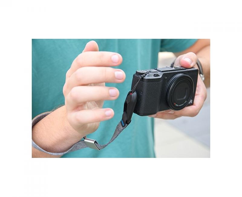 Dây máy ảnh đeo cổ tay Peak Design Cuff Wrist Strap, Màu xám 12