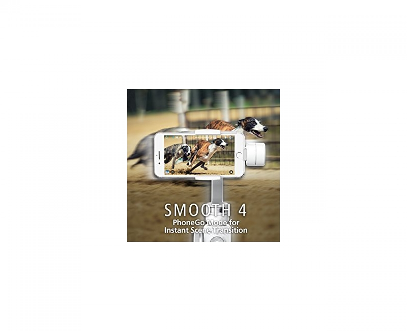 Thiết bị chống rung Zhiyun Smooth 4 - Gimbal 3 trục cho điện thoại - Chính hãng 8