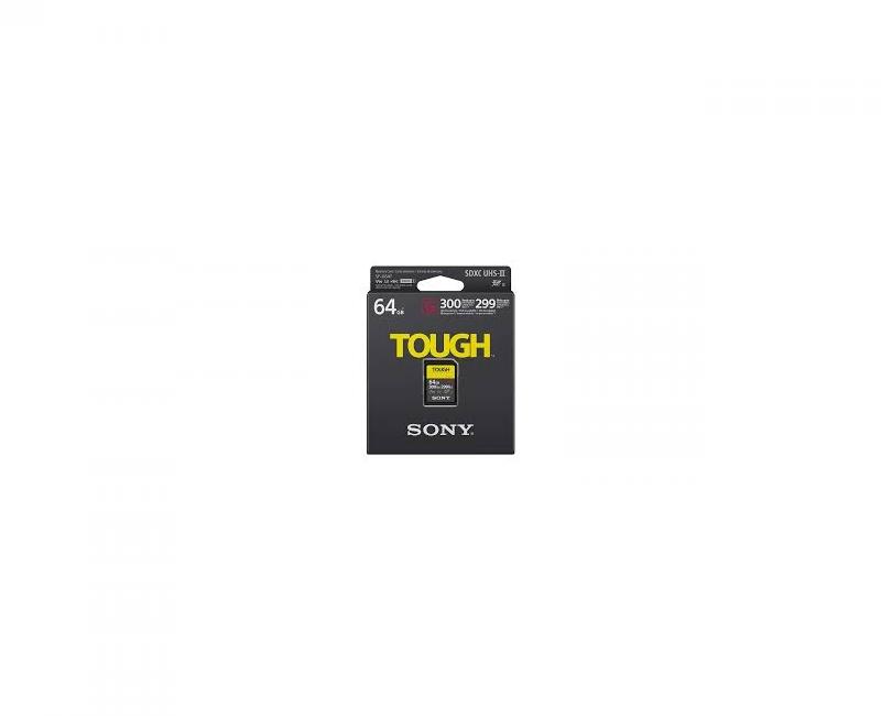 THẺ NHỚ SONY SDXC 64GB SF-G SERIES TOUGH UHS-II V90 U3 300MB/S 1