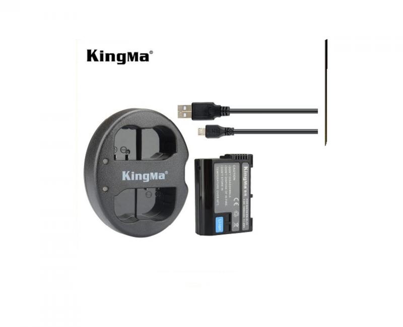 2Pin 1 Sạc Kingma cho pin Nikon EN-EL15 5