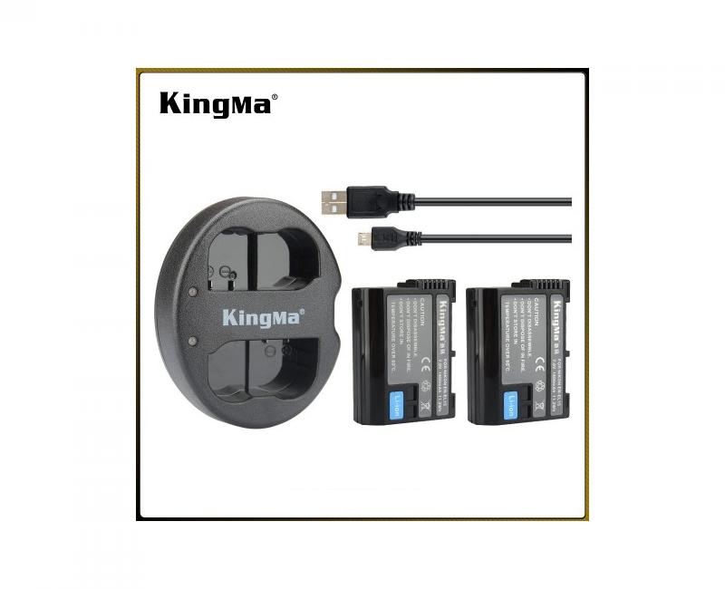 2Pin 1 Sạc Kingma cho pin Nikon EN-EL15 4