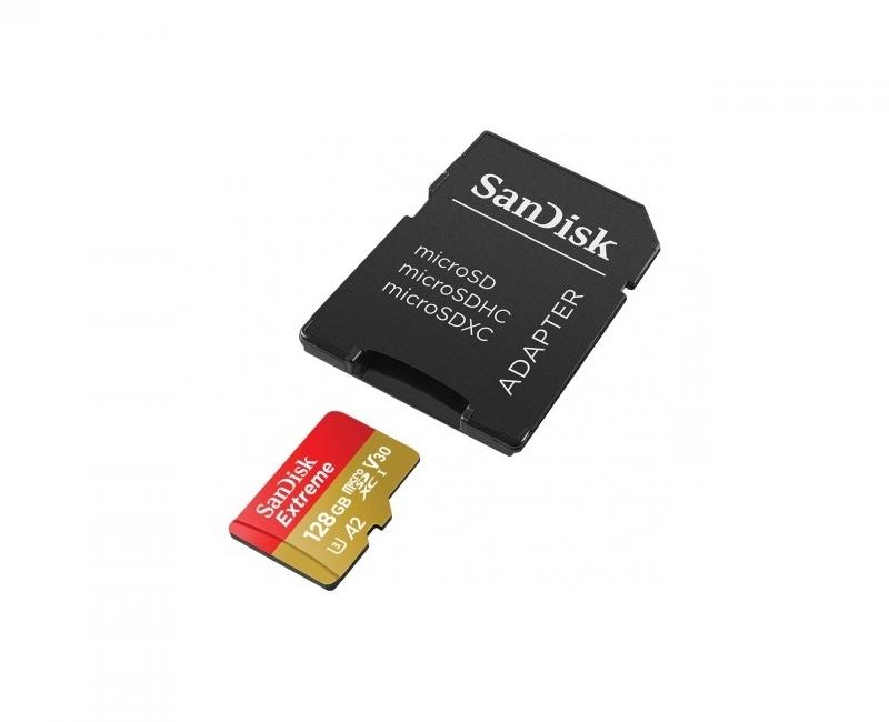 Thẻ nhớ Sandisk microSDXC A2 160/90 MB/s 128GB  Extreme 1