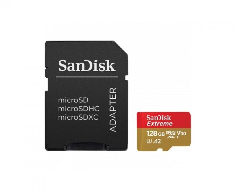 Thẻ nhớ Sandisk microSDXC A2 160/90 MB/s 128GB  Extreme 5