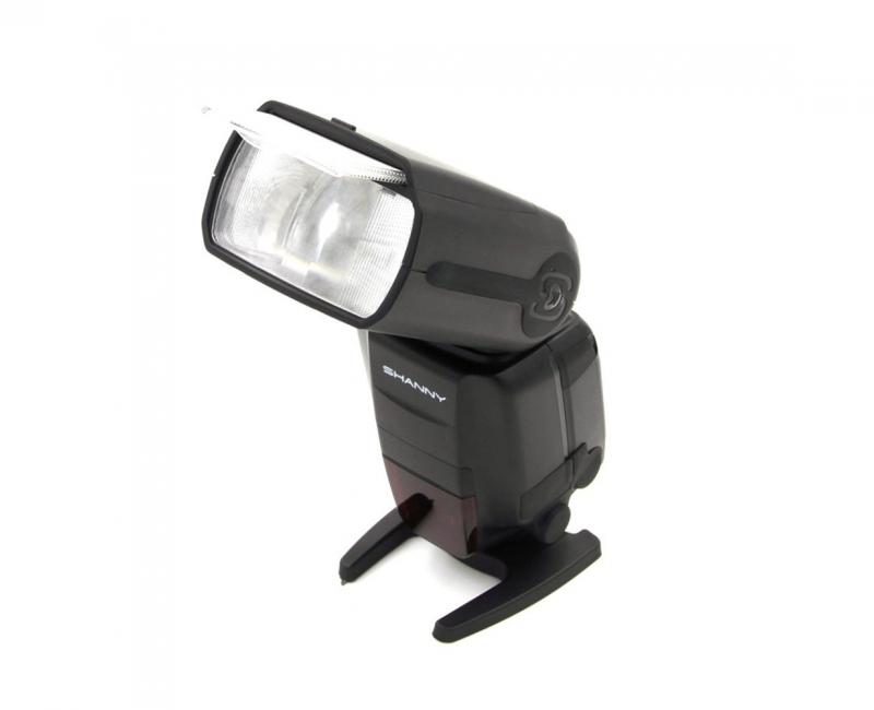 Combo Đèn Flash Shanny SN600C và Bộ Pin+sạc GP 3