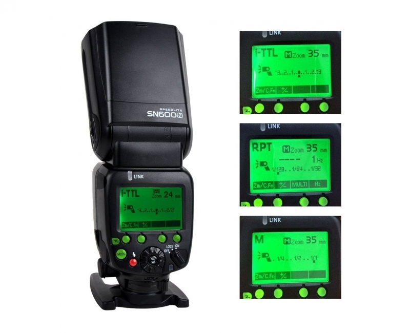 Combo Đèn Flash Shanny SN600C và Bộ Pin+sạc GP 4