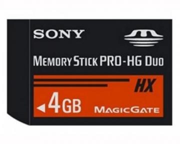 Sony Memory Stick Pro HG-Duo 4GB