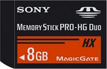 Sony Memory Stick Pro HG-Duo 8GB