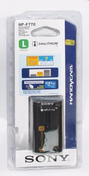 Pin Sony NP-F770, Dung lượng cao