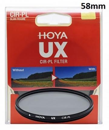 Kính lọc Hoya UX CPL 58mm