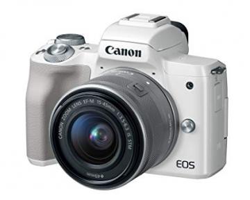 Máy ảnh Canon EOS M50 kit 15-45mm IS STM