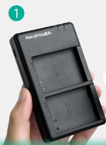 1 Sạc  Ravpower cho Sony NP-F550  RP-BC006
