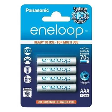 Pin AAA Panasonic Eneloop 4 Viên 750mAh 2100 Lần Sạc