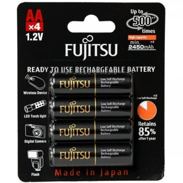 Pin Fujitsu AA 2450mAh (Màu đen)