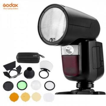 Đèn Flash Godox V1 Sony + BỘ PHỤ KIỆN GODOX AK-R1