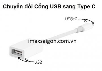 CỔNG CHUYỂN ĐỔI ĐẦU USB SANG TYPE C