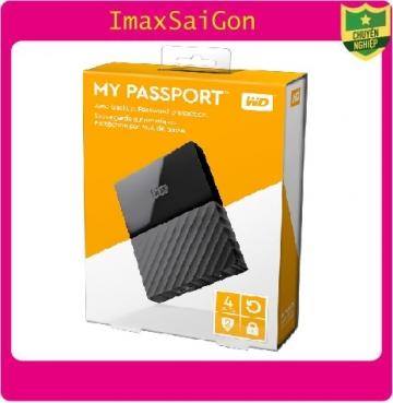 Ổ cứng di động WD My Passport 4TB