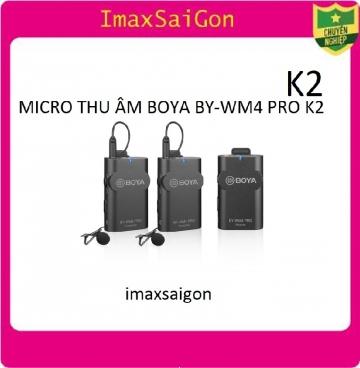 MICRO THU ÂM BOYA BY-WM4 PRO K2
