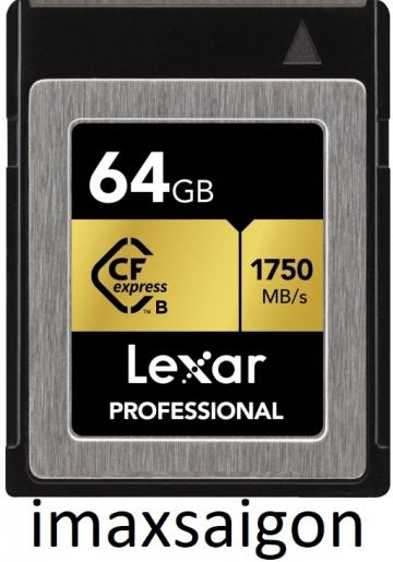 THẺ NHỚ CFEXPRESS TYPE B CARD LEXAR 64GB 1750MB/S