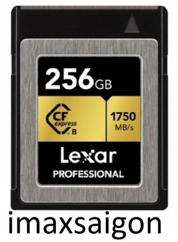 THẺ NHỚ CFEXPRESS TYPE B CARD LEXAR  256GB 1750MB/S