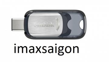 USB 3.1 SANDISK 64GB ULTRA USB TYPE-C FLASH DRIVE