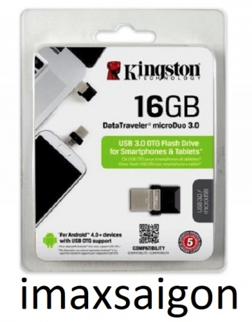 USB OTG KINGSTON MICRODUO 3.0 16GB