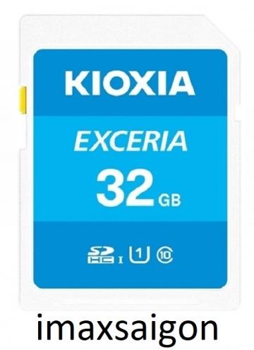 THẺ NHỚ TOSHIBA SDHC UHS-I EXCERIA KIOXIA 32GB