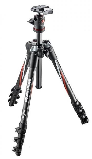 Chân máy ảnh Manfrotto Befree CARBON Fibere (chân Carbon)- MKBFRC4-BH