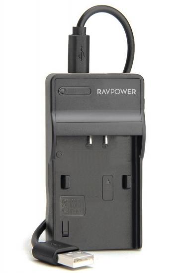 Sạc máy ảnh Ravpower cho Sony NP-FV100