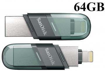 USB OTG 64GB Sandisk iXpand Flip for Iphone Ipad