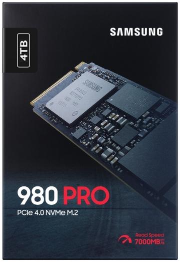 Ổ cứng SSD M2-PCIe 4TB Samsung 980 PRO NVMe 2280