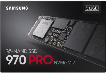 Ổ cứng SSD M2-PCIe 512GB Samsung 970 PRO NVMe 2280